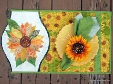 placemat sunflower_1