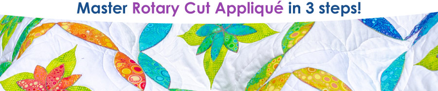 master rotary cut applique