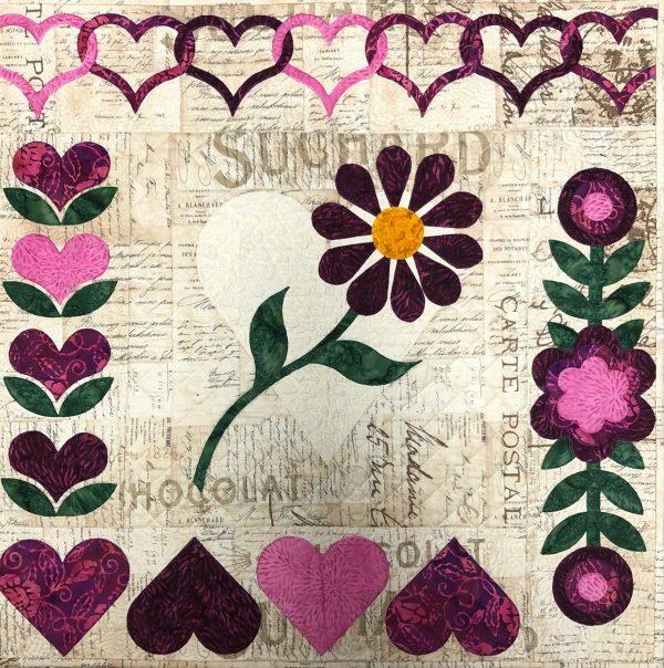 Hearts & More sampler Class Sample