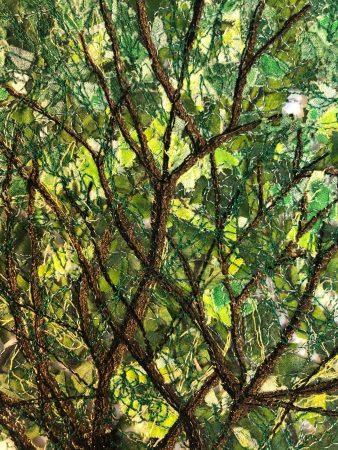 art quilt tree