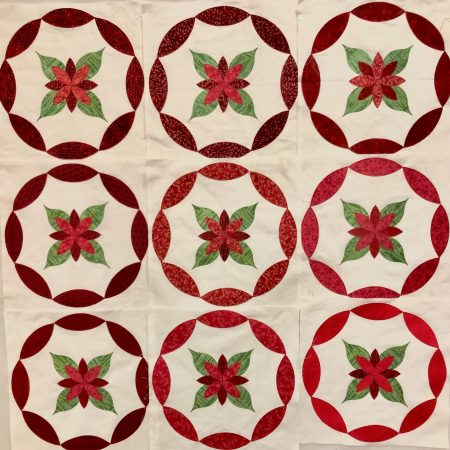 Gradations in Christmas Colors